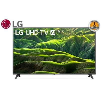 """LG 75"""" 75UM7180 Smart Ultra HD 4K HDR LED TV - Black image 1"""