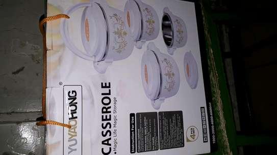Hot pot/4pc hot pot/4pc insulated Casserole hot pot image 2