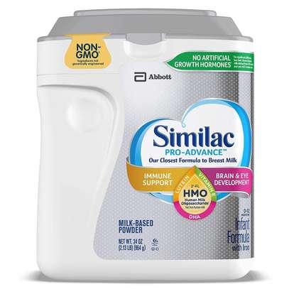 Similac Similac Pro-Advance Non-GMO with 2-FL HMO Infant Formula with Iron Powder, 34 Ounce ., 34 Ounce image 1
