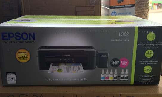 Epson L382 - 3 in 1 color printer - New image 1