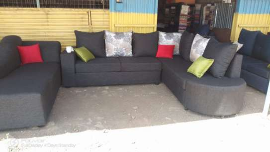 L shape Sofa plus Sofa Bed