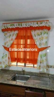 BEAUTIFUL COLOURFUL KITCHEN CURTAINS image 2