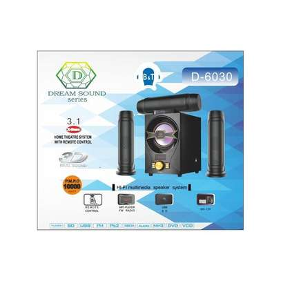 Dream Sound Series D-6030 3.1CH Speaker System - Black image 3