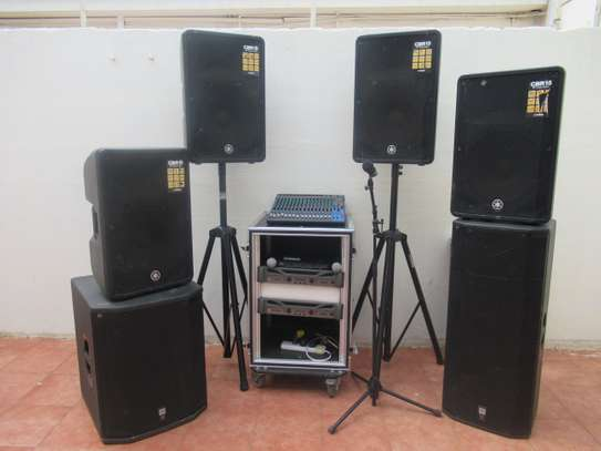 Professional Sound Equipment For Hire