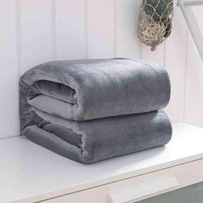 Orange fleece blanket image 3