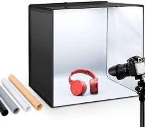 Mini Photo Studio Folding Lightbox Compact Photography image 1
