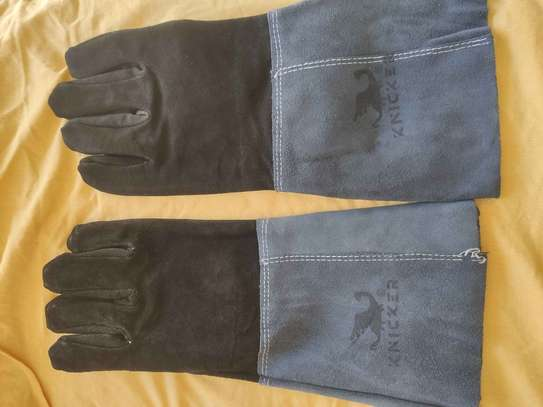 Leather Gloves For Construction And Welding image 4