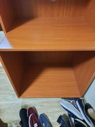 It is a study table/ storage area image 3