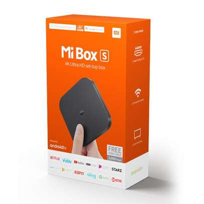 XIAOMI MI BOX S 4K ULTRA HD SET TOP BOX image 2