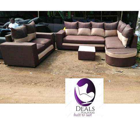 Six Seater Corner Seat + Sofabed/ Two Seater image 11
