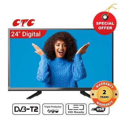 CTC 24 Inch Digital TV LED HD image 1