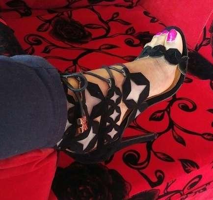 Gladiator Laser Cut Heels Made in UK image 2