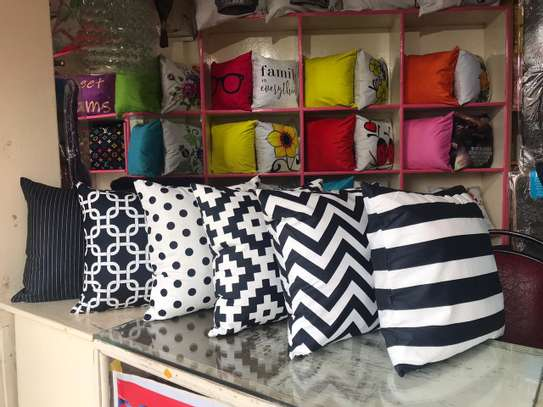 Egyptian Throw Away Pillow Covers image 8
