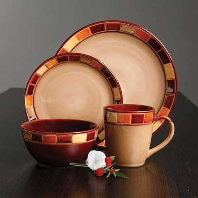 24 Piece Ceramic Dinner set image 3