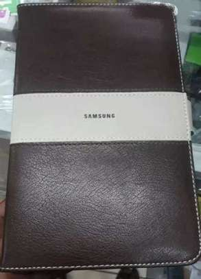 Samsung Logo Leather Book Cover Case With In-Pouch For Samsung Tab A 8.0 inches image 7