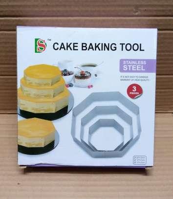 Stainless steel cake baking tool image 1