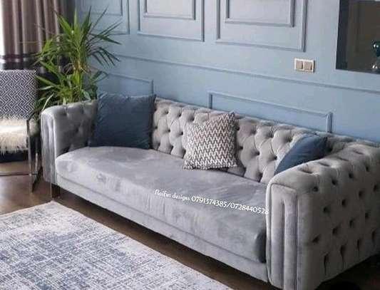 sofas/tufted sofa/three seater sofa image 1