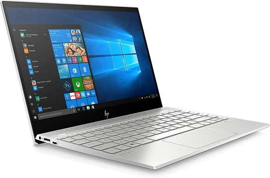 "HP ENVY 13-AQ0011 Core™ i5-8265U 1.6GHz 256GB SSD 8GB 13.3"" (1920x1080) TOUCHSCREEN BT WIN10 Webcam NATURAL SILVER Backlit Keyboard FP reader image 3"