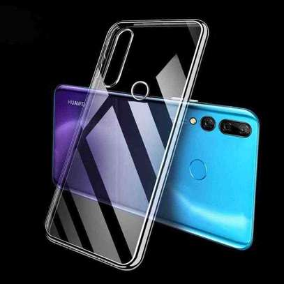 Clear TPU Soft Transparent case for Huawei Y9 Prime 2019/Y7 Prime 2019 image 5