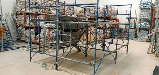 Scaffolding frame ladder for sale and hire. image 2