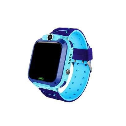 Kids GPS Intelligent Smart Watch - Blue image 3