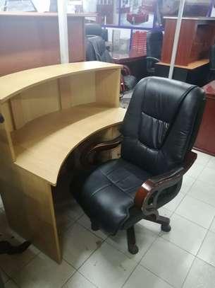 Curved Reception Office Desk image 4