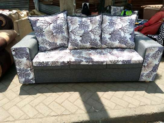 Simple Quality Ready Made 3 Seater Sofa image 1