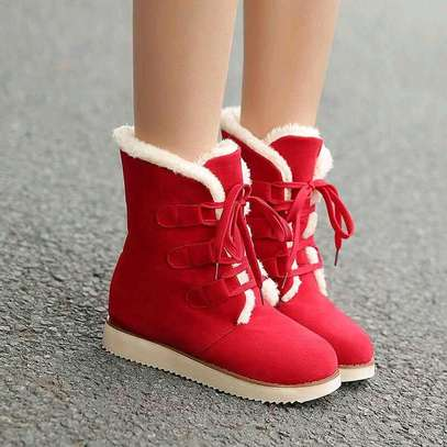 Ladies woolen ankle boots image 2