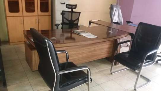 Executive Desk, 2.0 Meters, With Side Return image 1