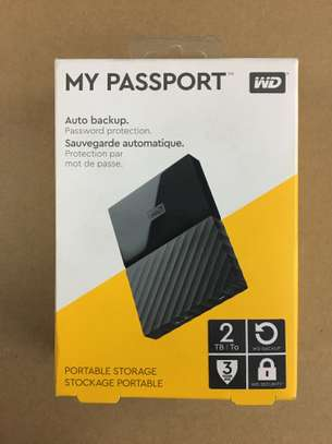 Western Digital 2TB Black My Passport Portable External Hard Drive - USB 3.0 image 2