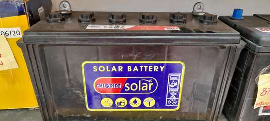 Chloride Solar Battery 100ah image 2