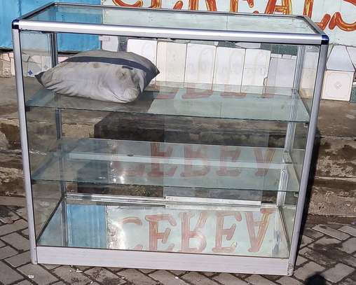 Aluminium glass display