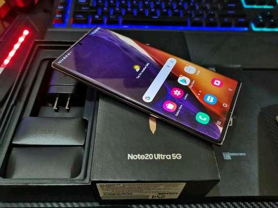 Samsung Galaxy Note 20 Ultra 512 Gigabytes Gold image 1