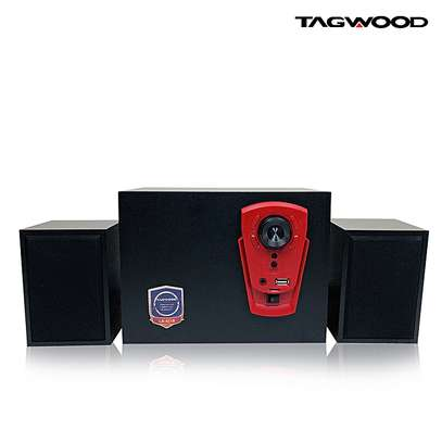 TAGWOOD LS-421B Multimedia Speaker System 2.1 with Bluetooth,FM Radio 5800W