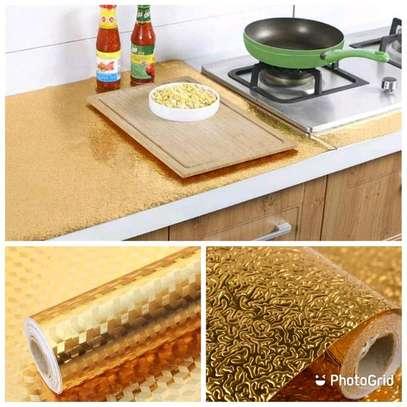 Gold Kitchen Aluminum Foil/mats image 1
