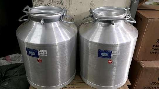 50litre milkcan/50litre milk jerrycan/50litre alminium milkcan/milk storage container image 1