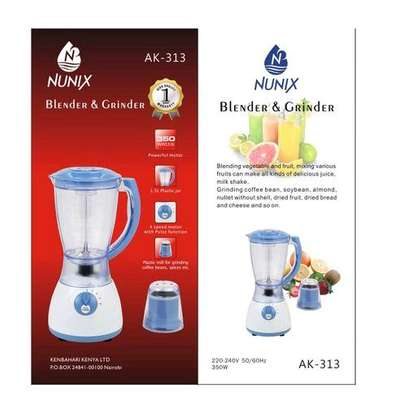 Nunix 2 In 1 Blender With Strong Grinding machine. 1.5L