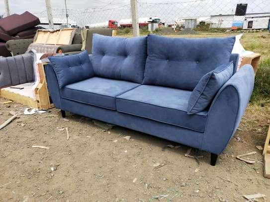 Blue three seater sofa for sale in Nairobi Kenya/modern sofas image 3