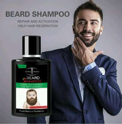 Aichun beard growth oil plus shampoo image 3
