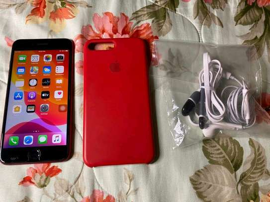 Apple Iphone 8 Plus 256 Gb Red And Iwatch Series 3 image 3
