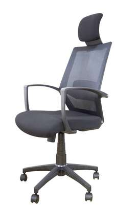 Executive high back mesh office chair image 1