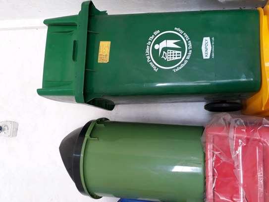 100litre dustbin/plastic dustbin/pedal dustbin/plastic pedal dustbin bin/sanitary dustbin image 3