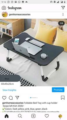Bedtray/Laptop/Tablet Stand with Foldable Legs image 3