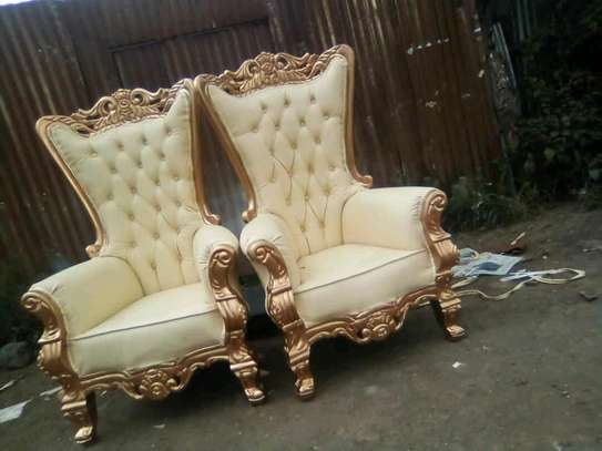 Antic arm chairs image 1