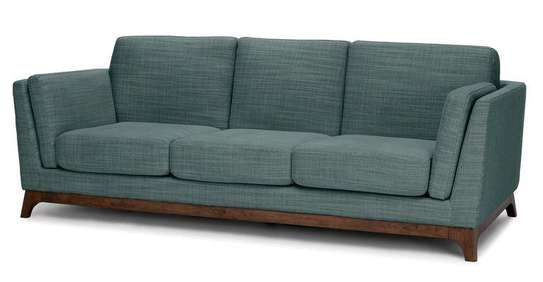 Wooden three seater sofas/Modern couches and sofas manufacturers image 1