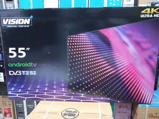 55 vision plus 4k uhd Android TV image 1