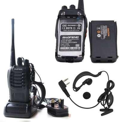 Handheld bf 888s UHF walkie talkie image 1