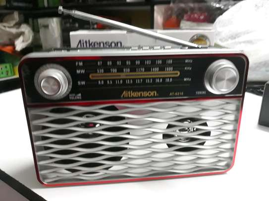 Manual rechargeable radio woth usb nd memory slot image 1