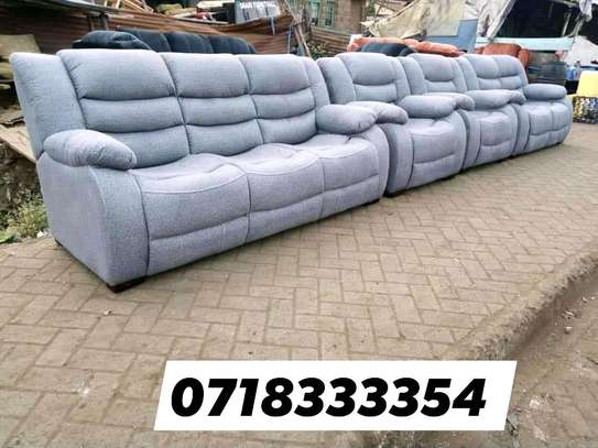 Ready Made Comfortable Contemporary Quality 7 Seater Non-Reacliner Sofa image 1