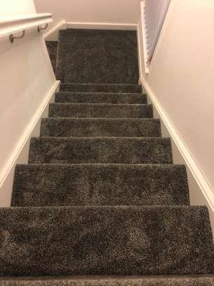 Charcoal grey wall to wall carpets image 7